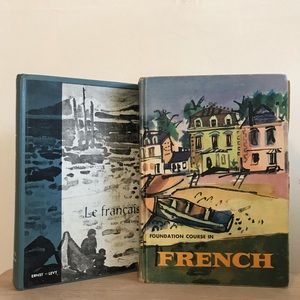 Vintage French Language Books